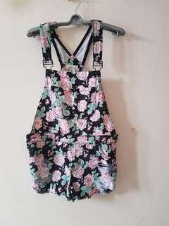 Forever 21 floral jumpsuits