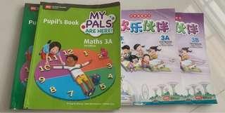 Preloved Primary 3 Textbooks for blessing.