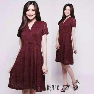 Anastasya lace dress premium