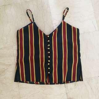 New ✨ Striped Sleeveless Top