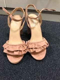 Verali pink heels 10cm