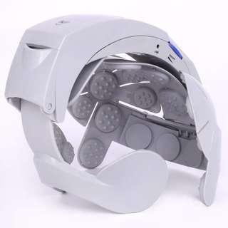 Electronic Head Massager Vibrating Automatic Scalp Relax Brain Release Machine
