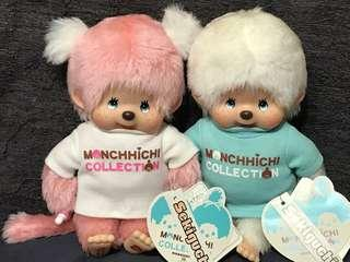 Monchhichi monchichi 三十週年丅shirt 版一對