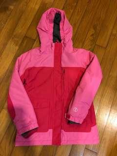 Lands End Pink Winter/Ski Jacket