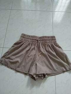 Zara eyelets shorts