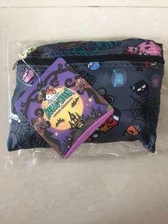 全新Ocean park Hello Kitty 旅行袋