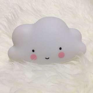 Reduced* White Mini Cloud Light