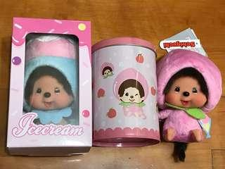 Monchhichi monchichi cafe 限定一對