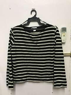 Stripe Top H&M