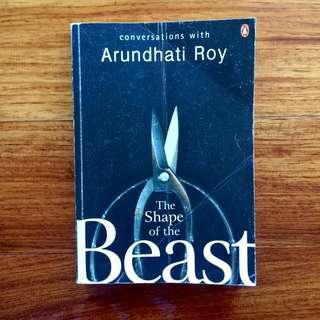 Book 🇬🇧 Arundhati Roy / The Shape of the Beast