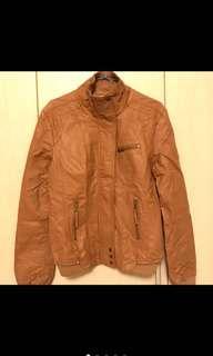🚚 皮衣外套(只穿一次)