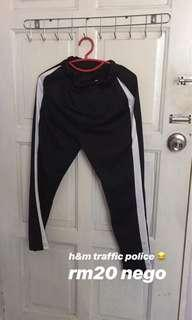 One line trousers