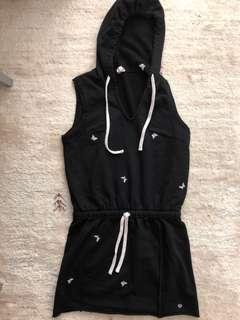Juicy Couture Hoodies Dress with Butterflies Size XS