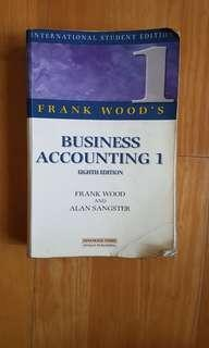 Business accounting 1 - Eight edition