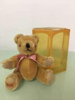 Merrythought Limited Edition Collectible Mini Mohair Bear