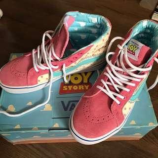 Vans high top x Toy Story