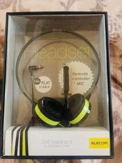 🚚 elecom 耳機 《全新未拆封》