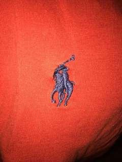 Polo red tee