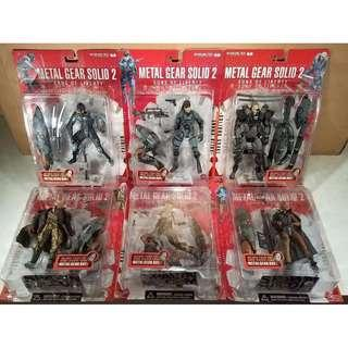 McFarlanes's Metal Gear Solid 2 Sons of Liberty Complete Set