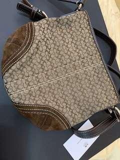 Authentic original coach vintage design sling crossbody bag
