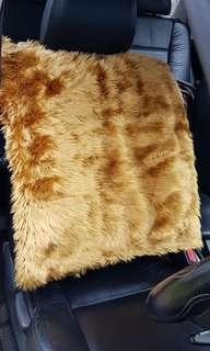 Luxury Car Faux Fur Cover