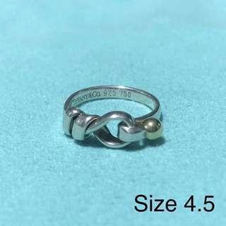 Tiffany & Co 18kt Love Knot Ring