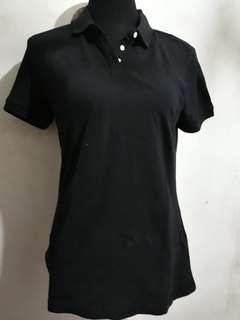 Folded and Hung polo shirt (black)