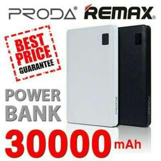 Remax Proda Powerbank 30000mAh  Portable Battery Charger