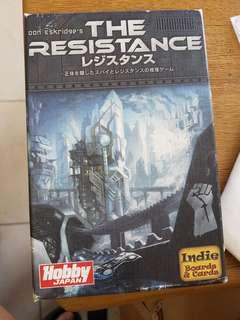 The Resistance Boards and Card