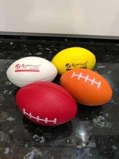 Brand New Stress Foam Rubber Balls Squash Toys Office Stationery School RWS Sentosa Singapore