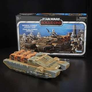 Offer Star Wars Rogue One The Vintage Collection Imperial Combat Assault Tank MISB