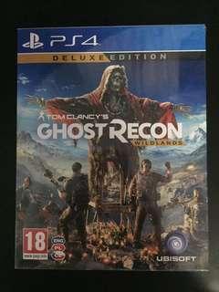 PS4 Tom Clancy's Ghost Recon Wildlands Deluxe Edition (New)