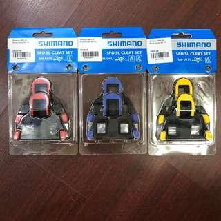 New: Shimano SH10 SH11 SH12 Cleats (free postage)