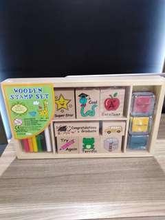 Wooden stamp set(木印套裝)