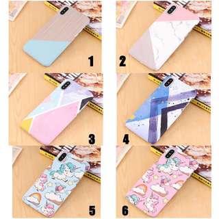 [PO] Geometrical Marble / watercolour phone case