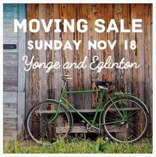 Moving Sale Sunday