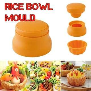 RM038 Rice Bowl Cup Bento Rice Mold Brand New Sales