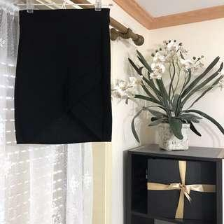 Wrap Bodycon Skirt