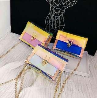 Unicorn sling clutch bags on-hand!!!