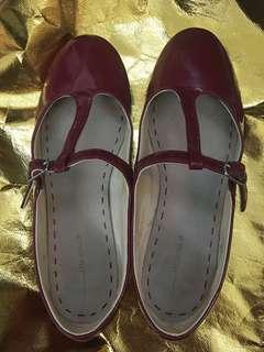 ZARA 紅色女鞋