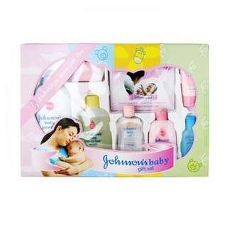 Johnson baby bath gift set box perlengkapan mandi