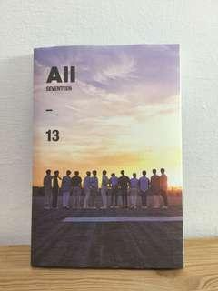 Seventeen 4th mini album - ALL (13) ver unsealed