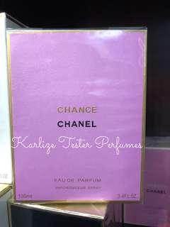 Chanel Chance tester US tester perfume