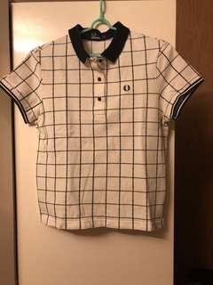 Fred Perry Polo(黑白格)