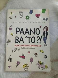 Paano Ba 'To Bianca Gonzales Book