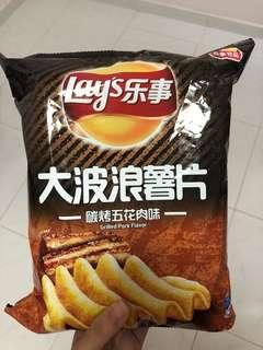 Lays grilled pork flavour (big pack)