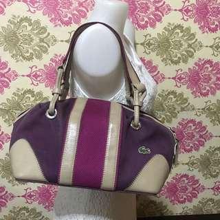 REPRICED!! Original LACOSTE bag