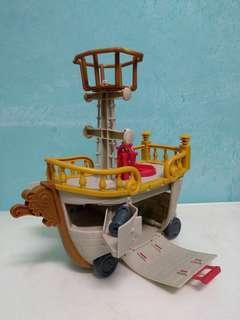 Imaginext Crabby Patty Ship