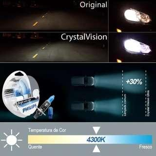 Philips Crystal Vision LTA Approved 4300K Bulbs! Installation Available!