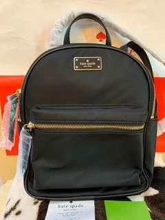Authentic new Kate spade backpack with receipt handbag